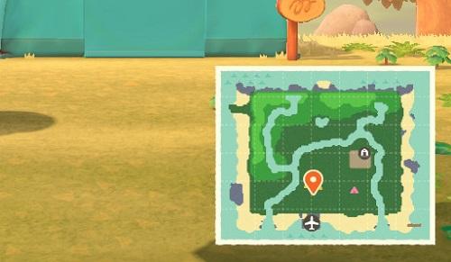 かききど島の地形