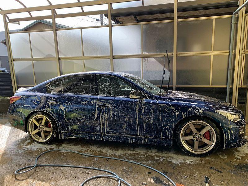 久々洗車からの…