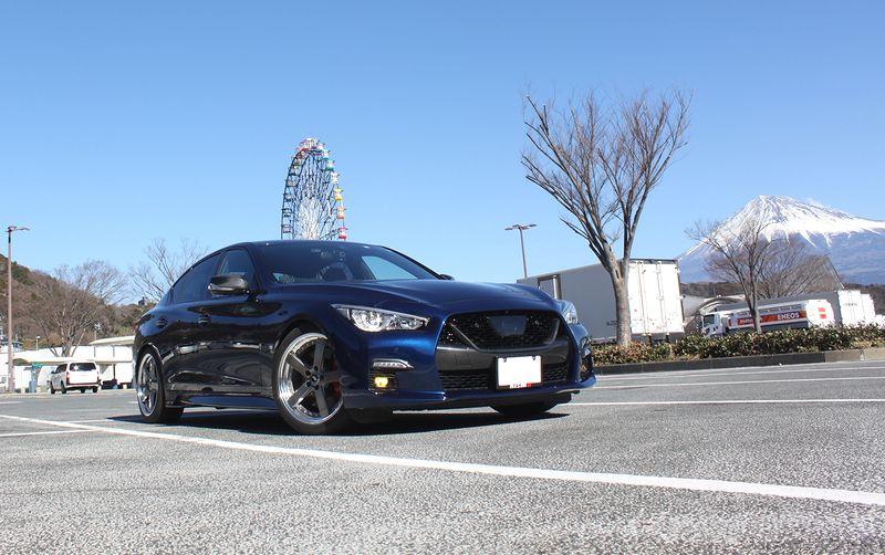 富士山と共に…