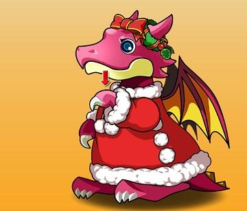 クリスマスガチャドラさん